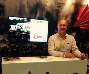 BME international business manager Charles Hurly at the Investing in African Mining Indaba.jpg